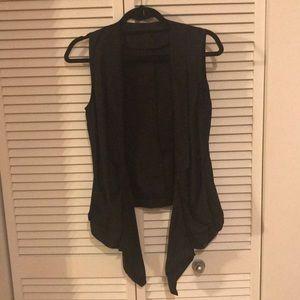 Black Trouve vest- never worn!
